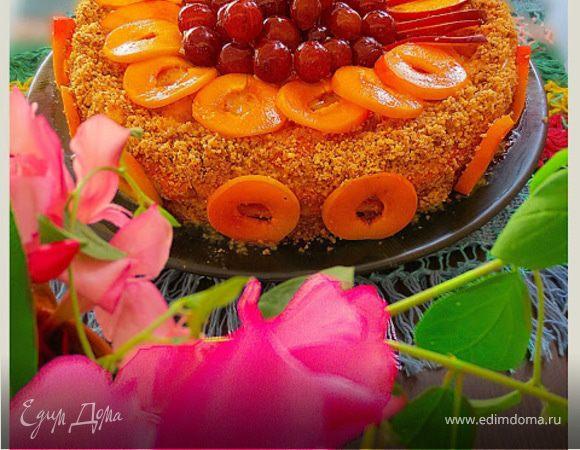 """Торт """"Тропиканка"""""""
