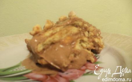 Рецепт Ореховый десерт с кофейным ароматом