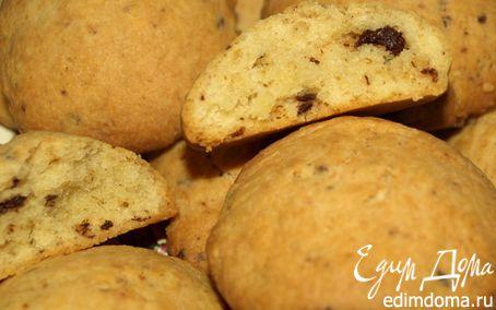 Рецепт Имбирно-творожное печенье с шоколадной крошкой