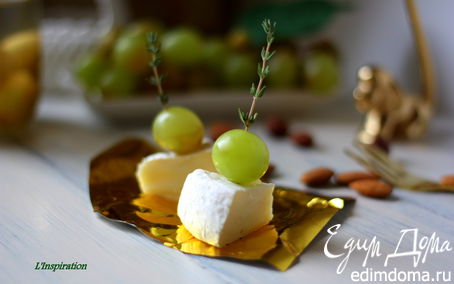 Рецепт Маринованный белый виноград