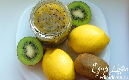 Рецепт Джем из киви и лимонов с кардамоном