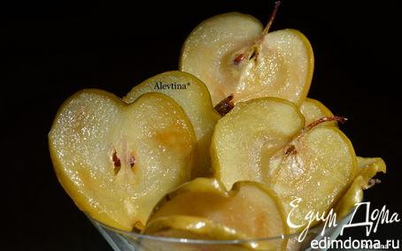 Рецепт Яблочные карамелизированные чипсы