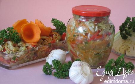 Рецепт Баклажаны с капустой