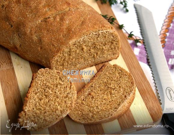 Ржаной хлеб на квасе с розмарином