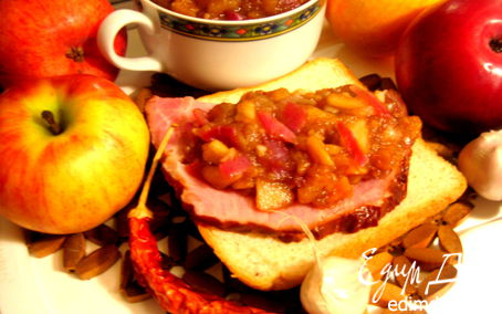 Рецепт Яблочный чатни к мясу
