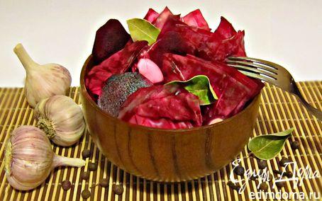 Рецепт Маринованная красная капуста