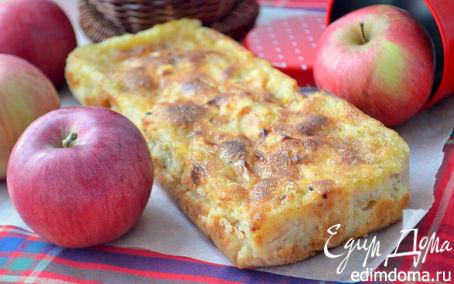 Рецепт Яблочный кекс с крустильяном