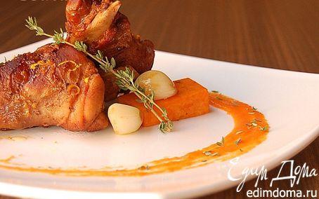 Рецепт Кролик в винно-апельсиновом соусе, или кулинарный абстракционизм