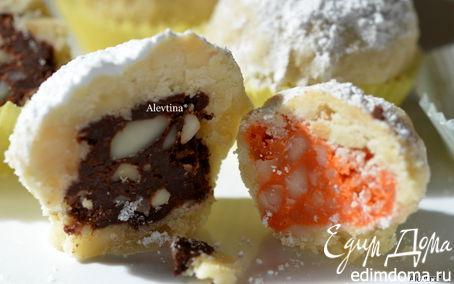 Рецепт Десерт с орехом Макадамия