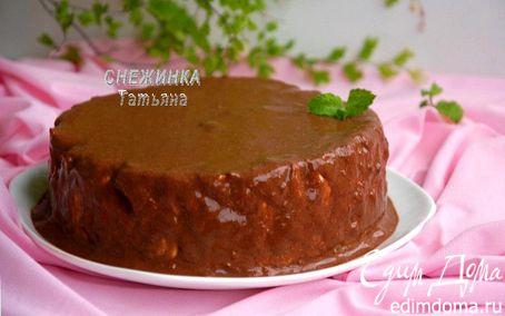 Рецепт Легкий и полезный творожный торт