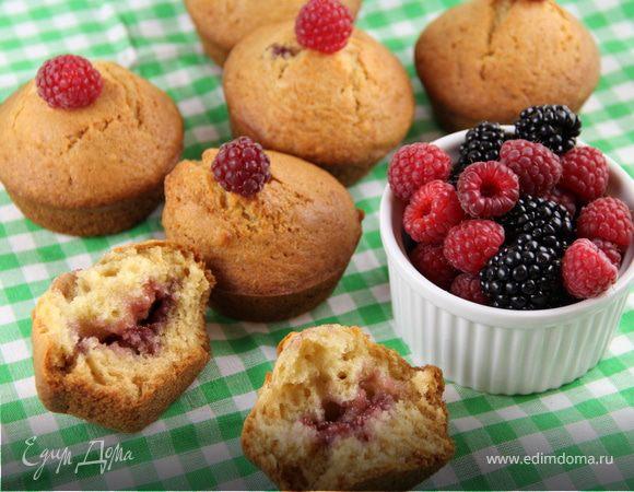 """Маффины """"Пончики"""" (Doughnut muffins)"""