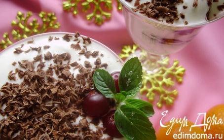 Рецепт Десерт из чернослива и грецких орехов