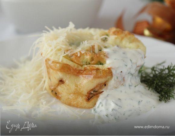 Запеченная рыба со сметанным соусом