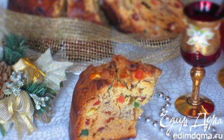Рецепт Рождественский панеттоне