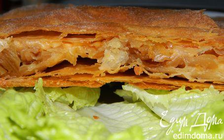Рецепт Пирог с капустой и сыром