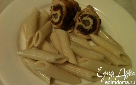 Рецепт Куриные рулетики с вялеными томатами и сыром