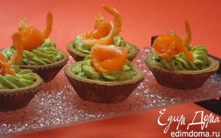 Рецепт Крем из авокадо в тарталетках