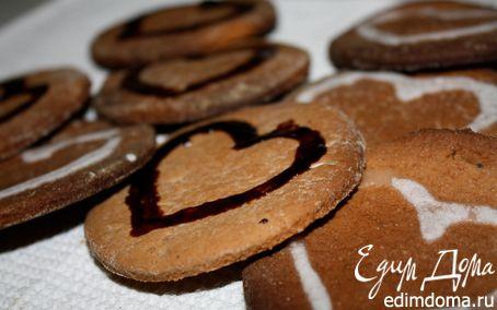 Рецепт Имбирное печенье на Новый год