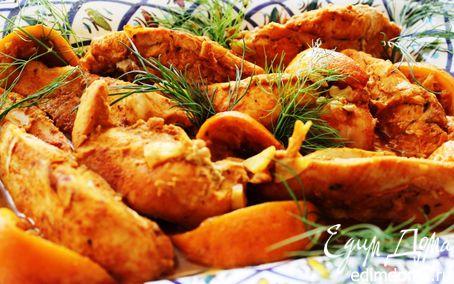 грудка индейки в сливках рецепты приготовления