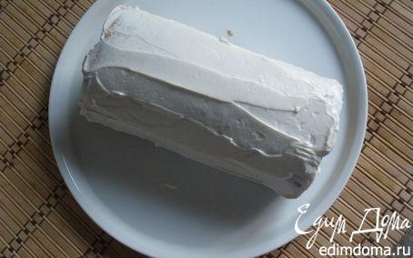 Рецепт Рулет с творожным кремом