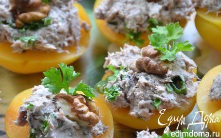 Рецепт Мусс из тунца на абрикосах