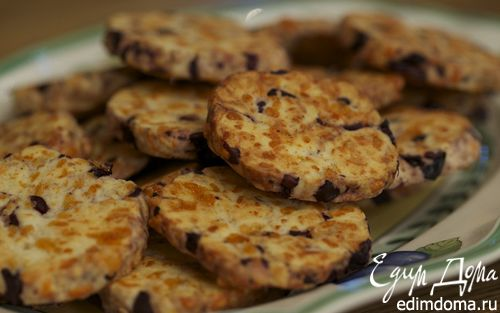 Рецепт Сырное печенье с маслинами