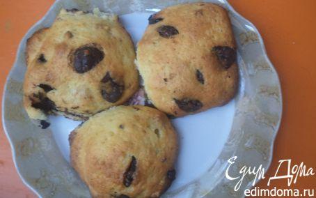 Рецепт Печенье с шоколадными каплями