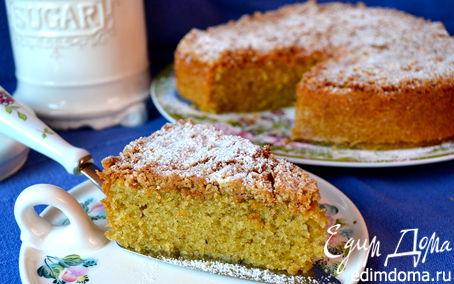 Рецепт Кофейный пирог с хрустящей корочкой