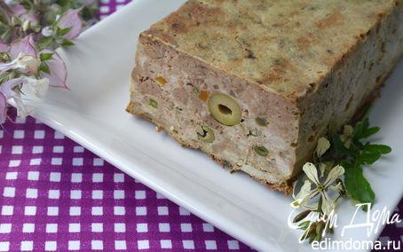 Рецепт Мясной террин с куриной печенью