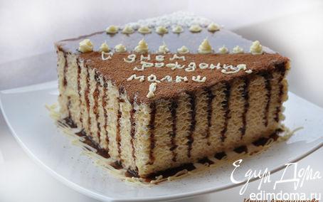 Рецепт Торт из вафельных коржей