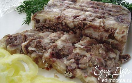 Рецепт Сальтисон из свиной головы - мясная закуска