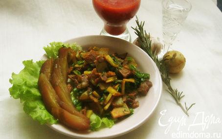 Рецепт Жареная картошка с беконом