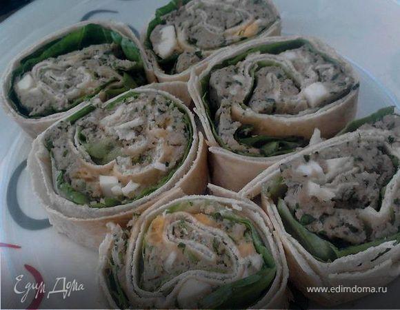 Арабские лепешки с начинкой