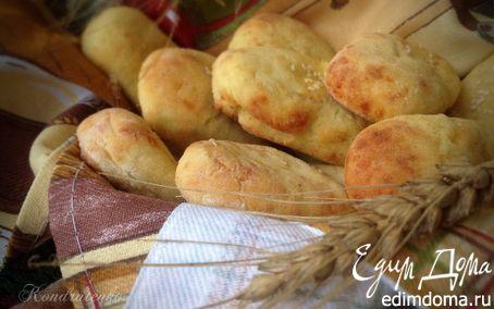 """Рецепт Картофельные """"пальчики"""" с сыром и чесноком"""