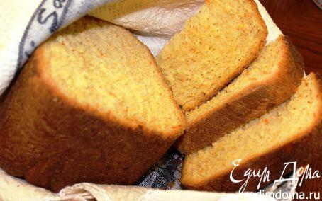 Рецепт Домашний морковный хлеб