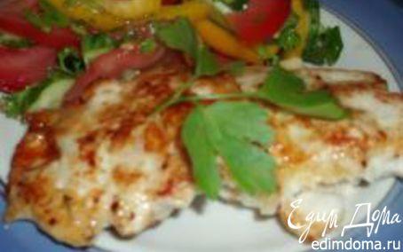 Рецепт Куриные котлетки с сыром