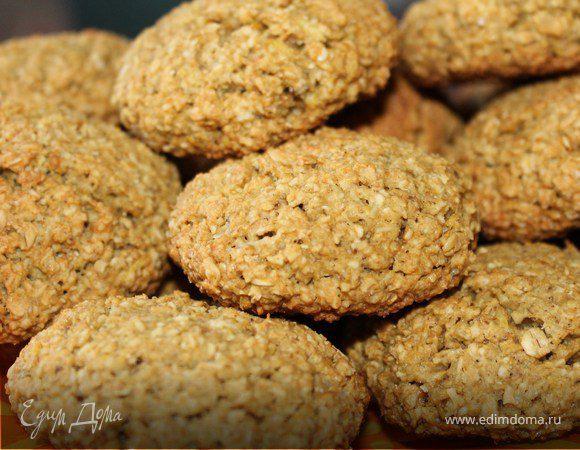 Овсяное печенье (без муки) «Шотландская рапсодия»