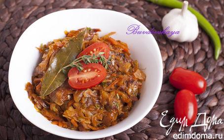Рецепт Капустная солянка с сосисками