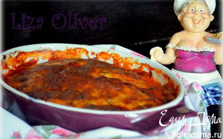 Рецепт Куриное филе, запеченное с двумя сырами в томатном соусе