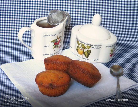 Абрикосовые маффины с шоколадными каплями