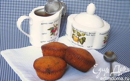Рецепт Абрикосовые маффины с шоколадными каплями