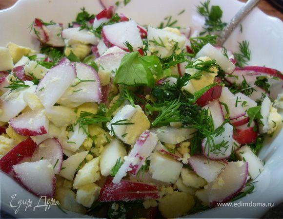 Бабушкин весенний салат
