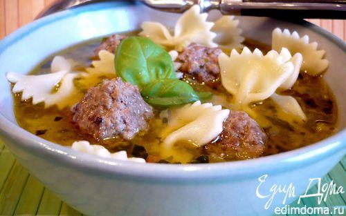 Рецепт Суп с овощами и фрикадельками
