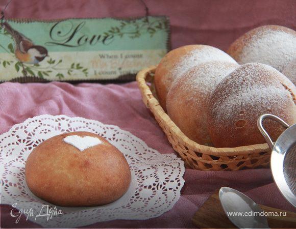 Шведские колобки из спельты с шоколадным кремом