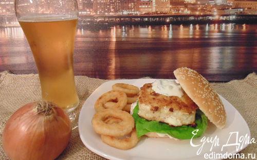 Рецепт Рыбный бургер (Fish burger)