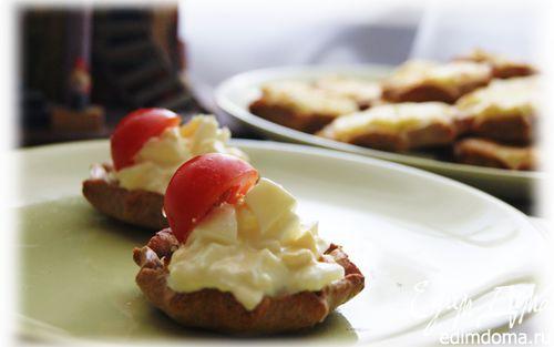 Рецепт Карельские пирожки с картошкой и яичным соусом