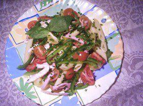 Салат из пенне с мясом