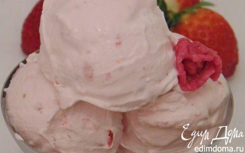 """Рецепт Мороженое """"Клубничный сюрприз"""""""