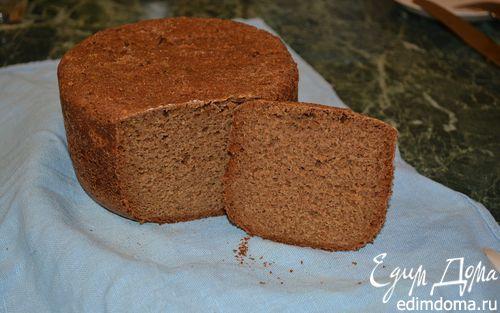 Рецепт Ржаной хлеб с ржаными отрубями на закваске в хлебопечке