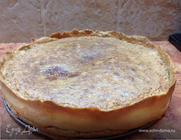 Пирог с орехом